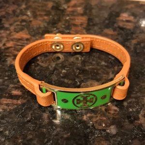 Tory Burch green bracelet
